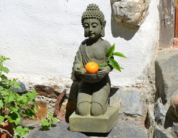 Buddha with Orange
