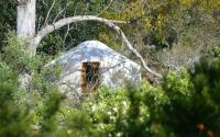 Meditation Yurt at the Secret Garden